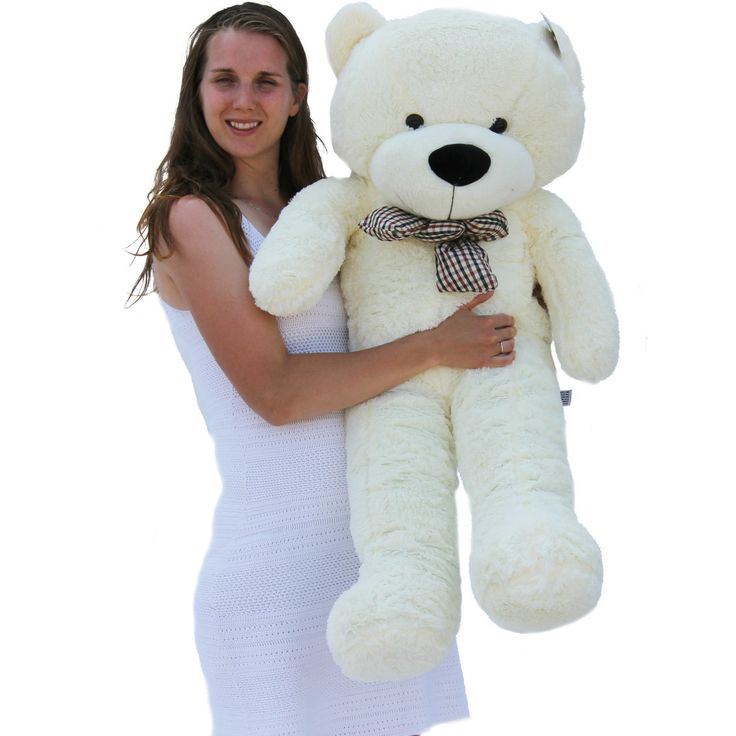 "#Joyfay® 47"" 120cm white large teddy bear #giant big huge plush toy #valentine g,  View more on the LINK: 	http://www.zeppy.io/product/gb/2/331855741407/"