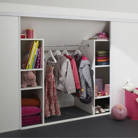 Am nagement modulable de placard et dressing am nagement - Rangement modulable leroy merlin ...
