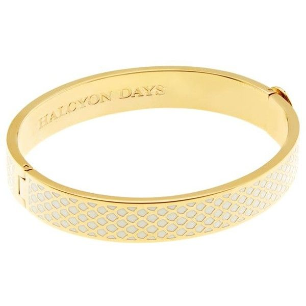 Halcyon Days Gold Salamander Bangle and other apparel, accessories and trends. Browse and shop related looks.