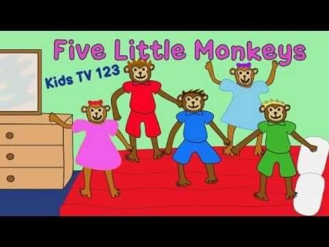 Five Little Monkeys - normal version