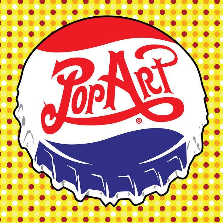Decorative Painting - Pop Art Bottle Cap by Gary Grayson