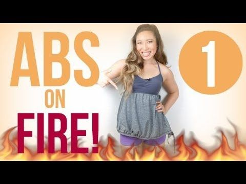 ABS ON FIRE!!!! - Blogilates: Fitness, Food, and lots of Pilates
