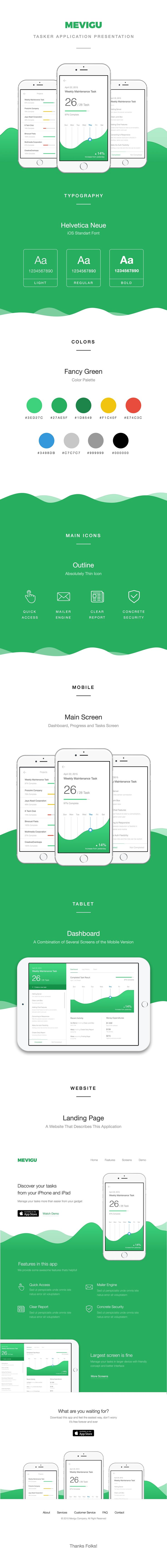 Mevigu - Task Management Application on Behance