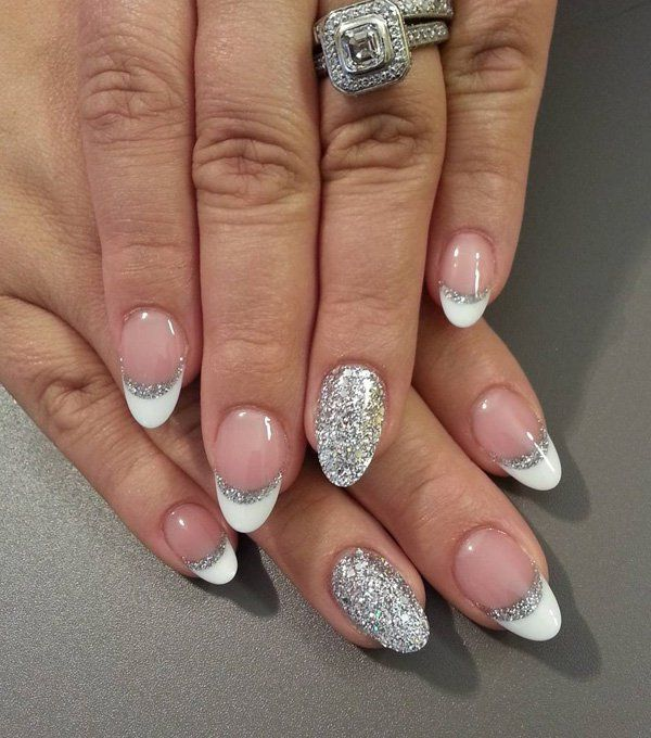 37 Beautiful Oval Nail Art Ideas | Nails | Pinterest | Nageldesign Ovale Nu00e4gel Und Hochzeitsnu00e4gel