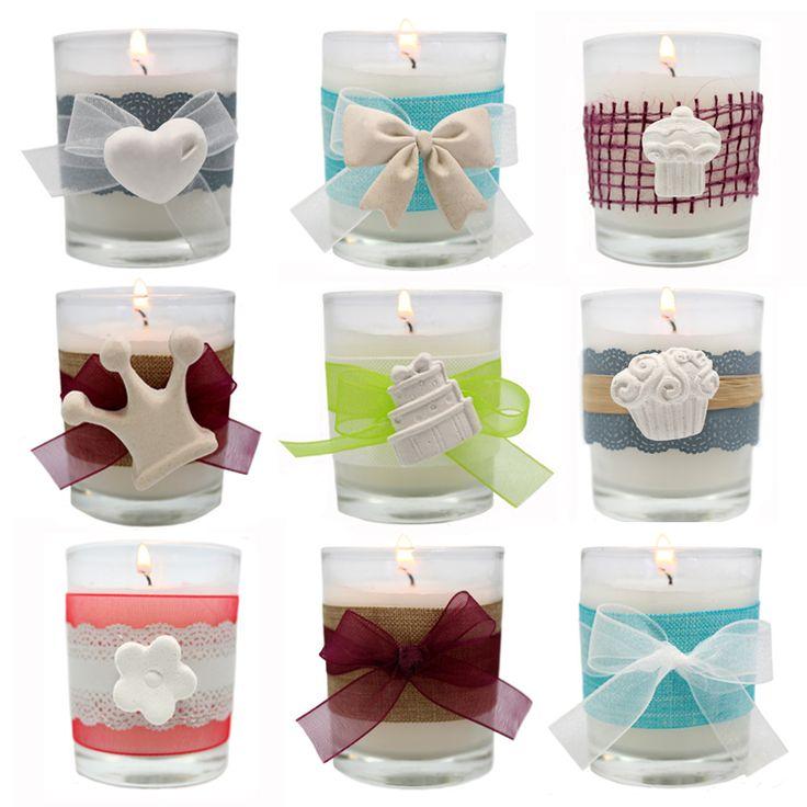 Cómo decorar velas                                                                                                                                                                                 Más