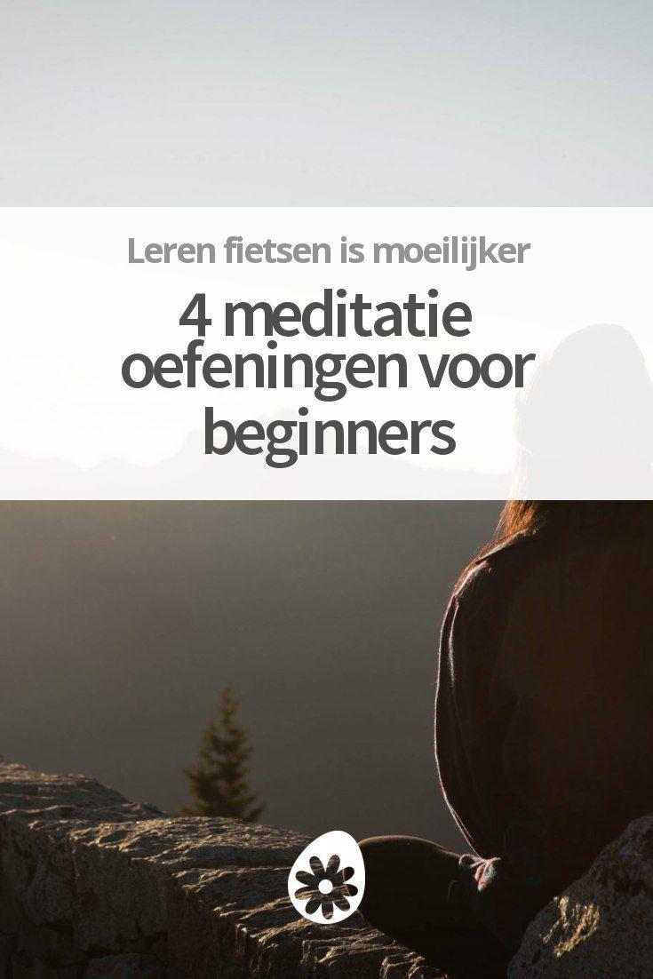 Met deze meditatie oefeningen wordt beginnen met mediteren een stúk makkelijker. ✌