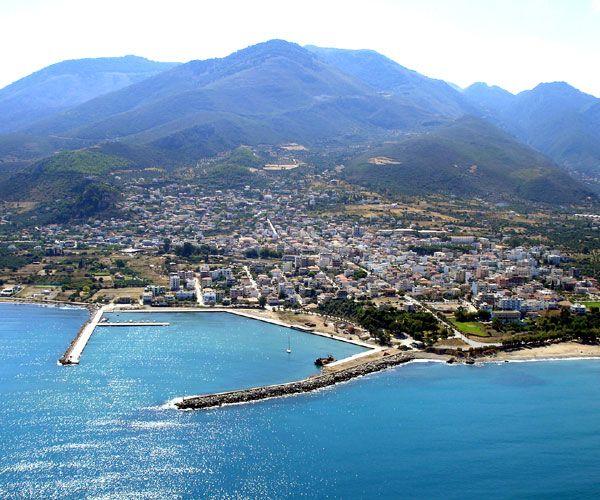 I'll be back Kyparissia ! Greece Greek Town Mountain Beach Scenery Travel