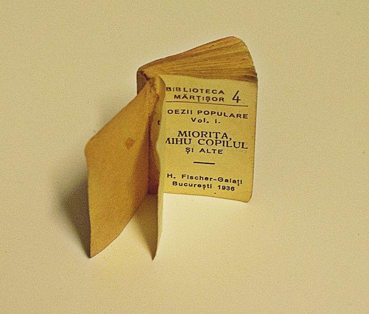 Cea mai mică carte din lume - 1936 - Miorița, Mihu Copilul, s.