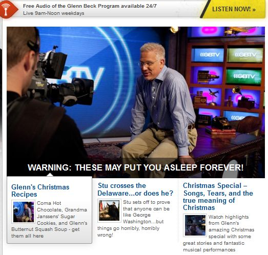 The Top 8 Radio Talk Show Hosts With Online Streaming   image/Glenn Beck.