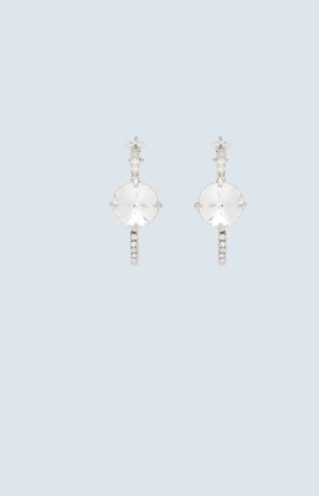 d7120770a0c25 FrenchEconomie™️Jewellery Box Spring 2019: Crystal Hoop Earrings By ...