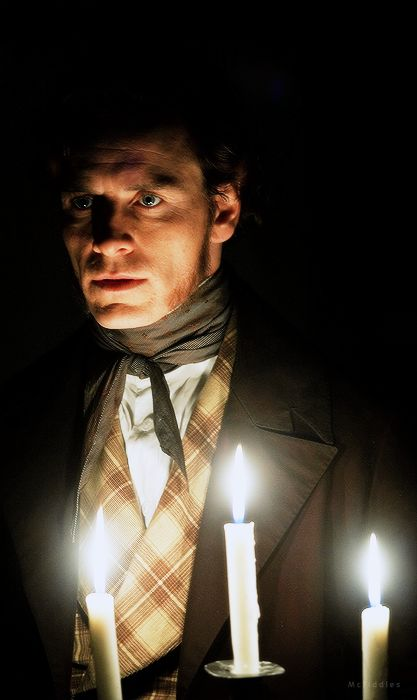Michael Fassbender as Mr. Rochester in Jane Eyre, real. C. Fukunaga 2011.