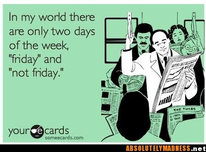 Friday. Not Friday. Saturday. Sunday.Happy Friday, Laugh, Quotes, Funny Stuff, Humor, Things, Ecards, True Stories, Tgif