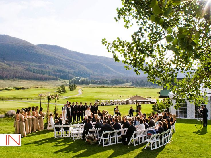 Keystone Ranch Weddings Colorado IN Photography Wedding Ceremony