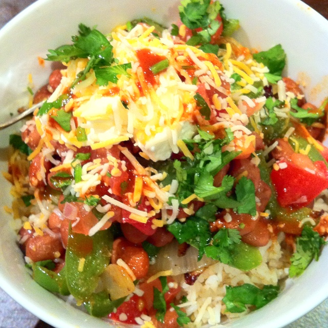 Mexican rice bowl ! Mm mmmm | just for fun | Pinterest