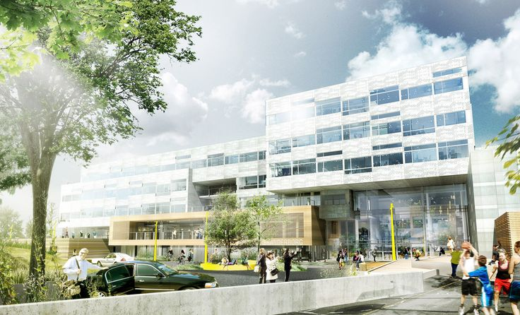 Town hall in Skanderborg  #townhall #danisharchitecture #scandinavianarchitecture #aarhusarkitekterne