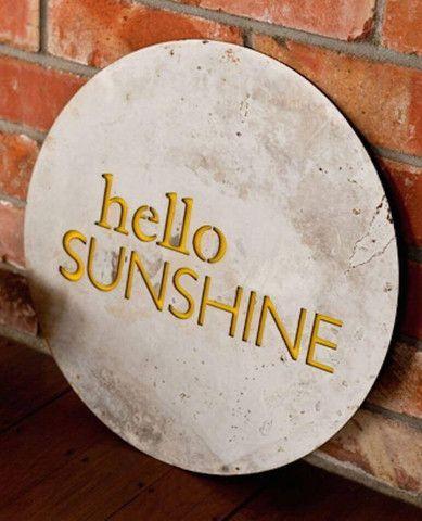Hello Sunshine - Outdoor Art