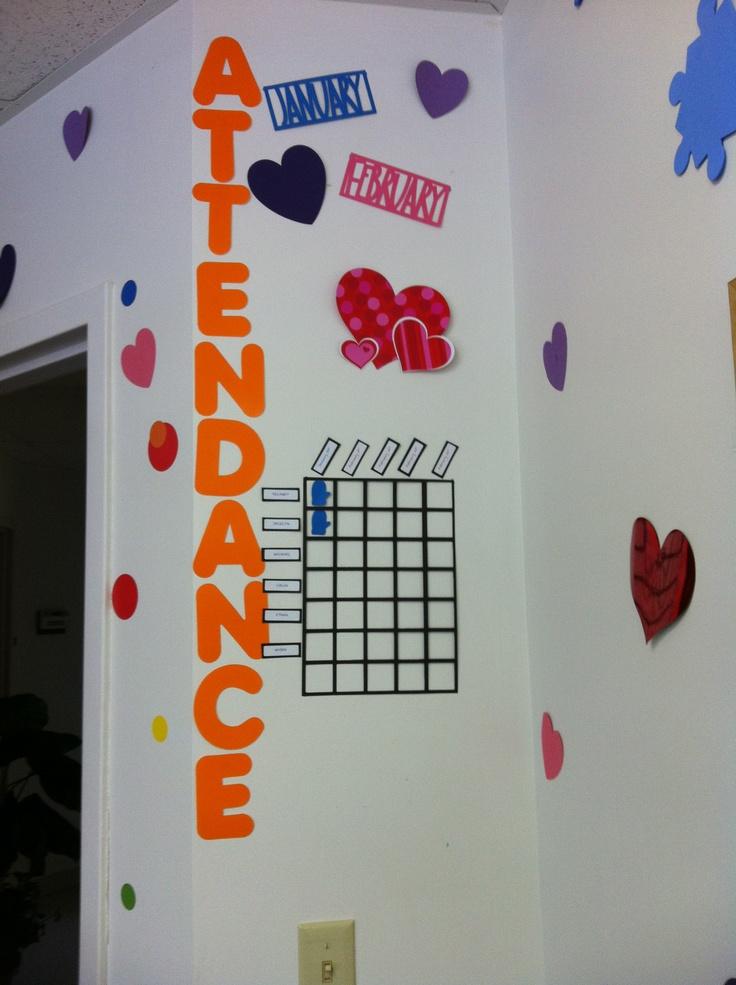 Love Calendar Ideas : Attendance chart kid s room pinterest see best ideas