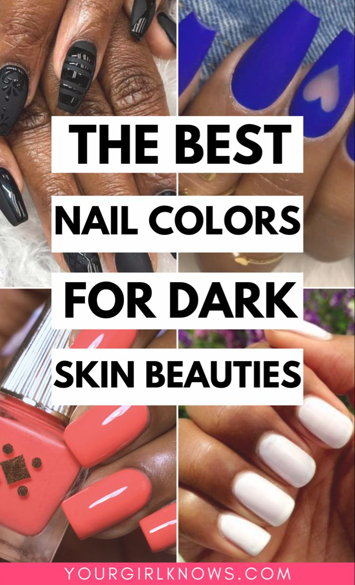 Summer Nail Colors For Tan Skin : summer, colors, GORGEOUS, SUMMER, COLORS, BEAUTIES, Colors,, Manicure,, Color