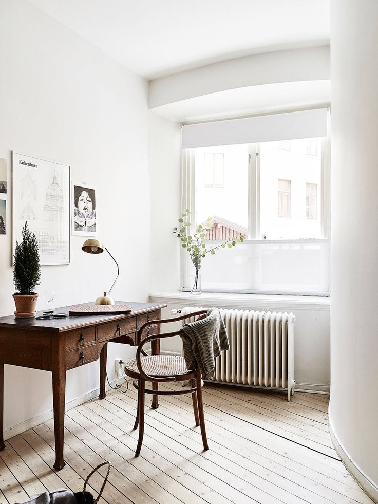 25 best ideas about scandinavian office on pinterest for Swedish design desk