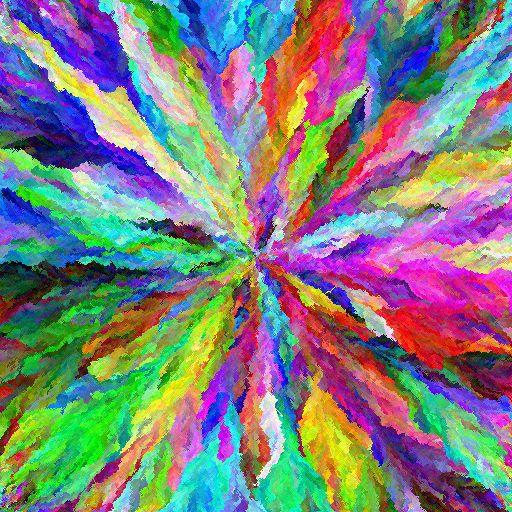 RGBカラー209万7152色を1枚の画像に入れるとこうなる - GIGAZINE
