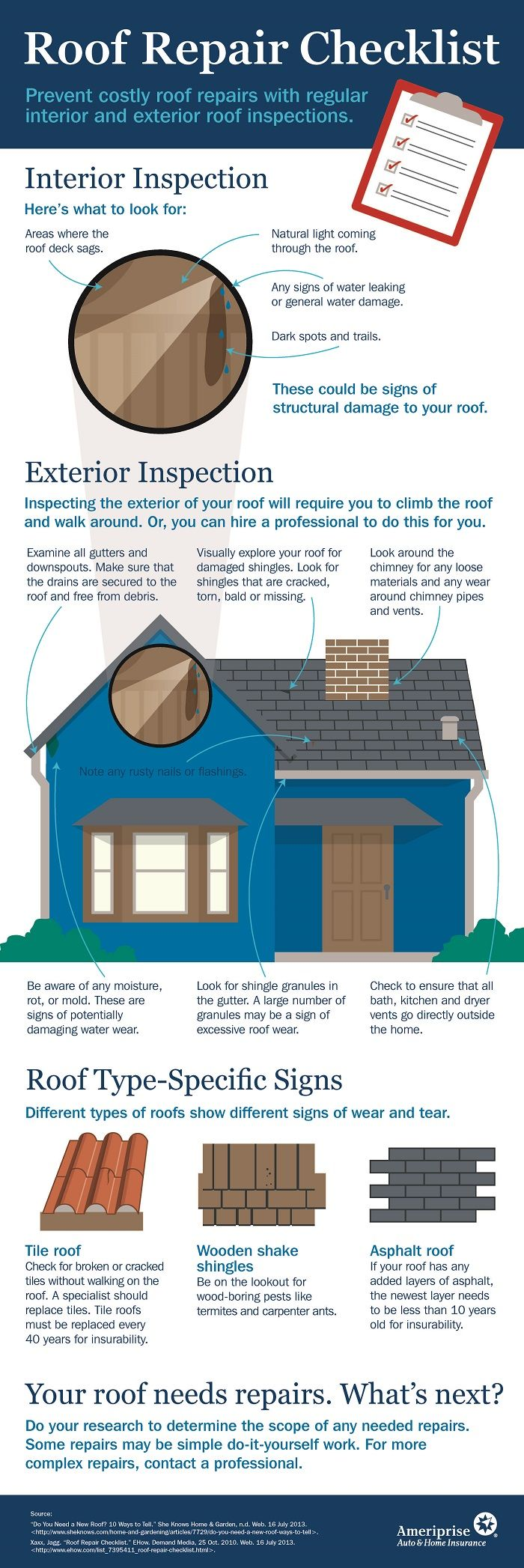 29 best images about home maintenance and safety infographics on pinterest identity theft - Important tips roof maintenance ...