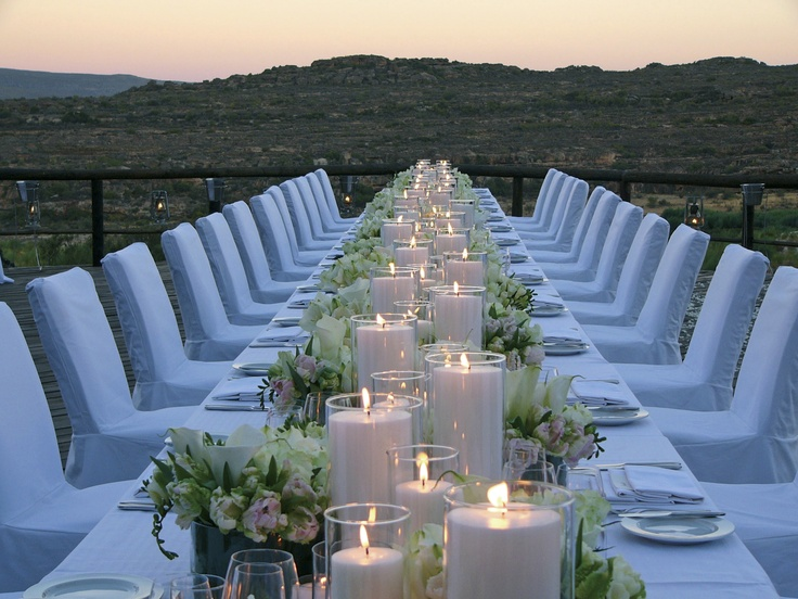 The semi-desert weather/climate at Bushmanskloof allows for year round opportunities for outdoor dining under a canopy of stars. With expansive views, this lodge hosts incredible African weddings and is a mere two hour drive north of Cape Town, close to Africa's top tourist destination.