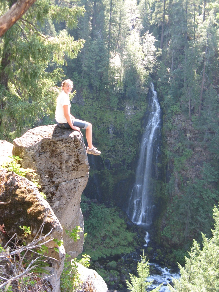 Mill Creek Falls, Prospect, Oregon -- our favorite place to hike