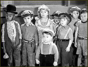 """""""Our Gang"""" (La pandilla) años 30. ¿Os acordáis de verlos en La bola de cristal?"""