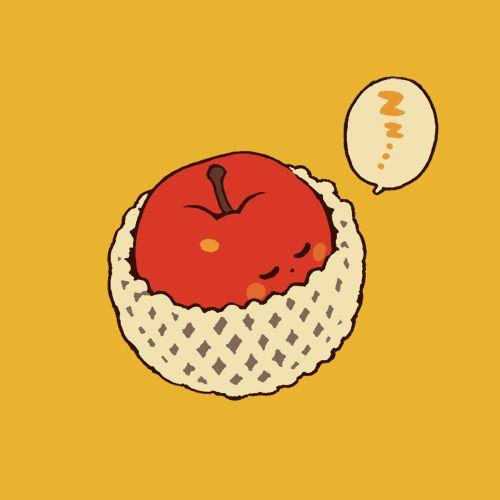 あったかフトンでおやすみリンゴ アップルパイになるさだめ ーーー ご無沙汰! 11/1発売のpixiv年鑑2014に1ページ掲載して頂きました。 既存絵のみ、お知らせまで。