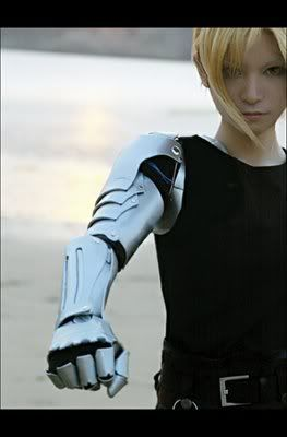 fma edward elric cosplay (why do so many girls cosplay as Ed?)      Automail Arm