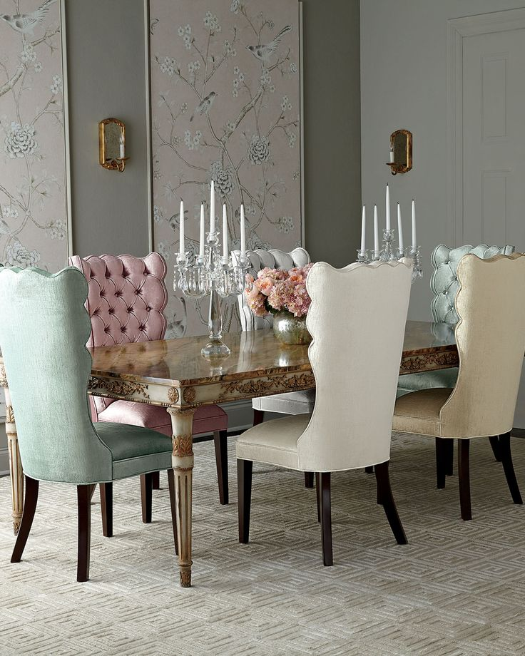 Annabelle dining table dining room ideas pinterest for Pastel dining room ideas