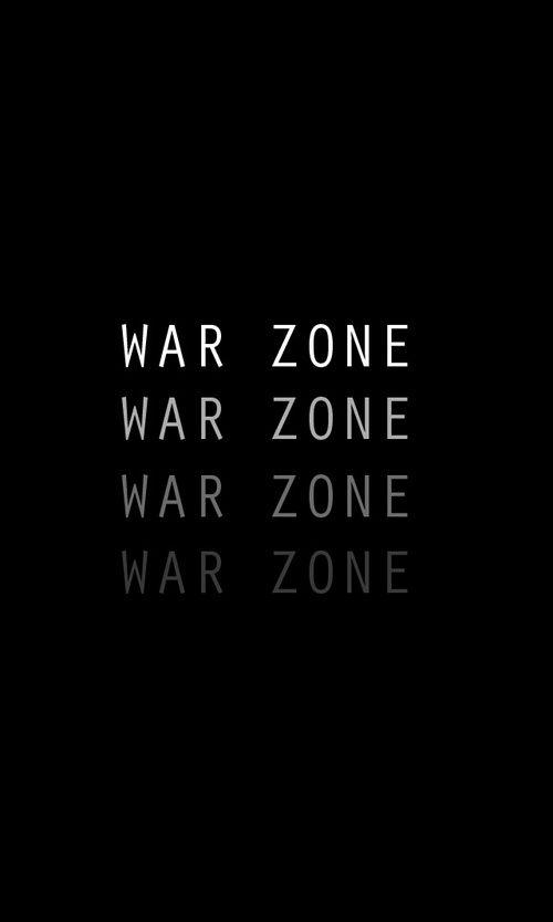 Zona de guerra.