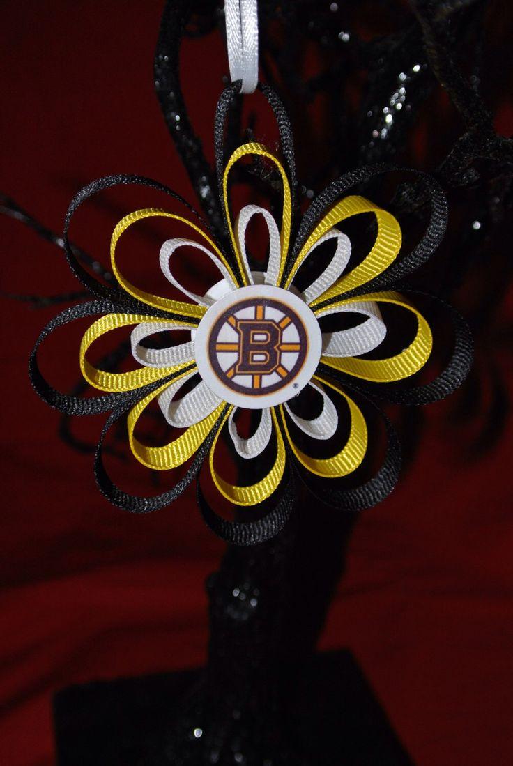 NHL Boston Bruins Ornament - 2014 NHL Playoffs - by SerinasDelights on Etsy https://www.etsy.com/listing/173260239/nhl-boston-bruins-ornament-2014-nhl