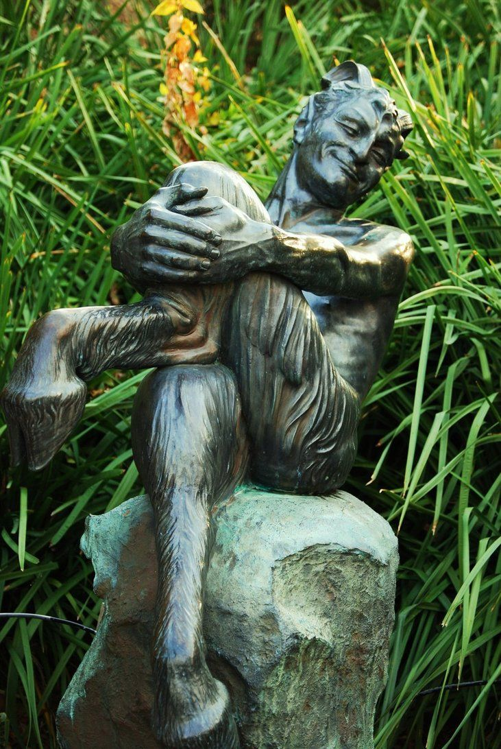 PAN - www.cedarspirit.deviantart.com - oh, so here is the full statue - really great :)