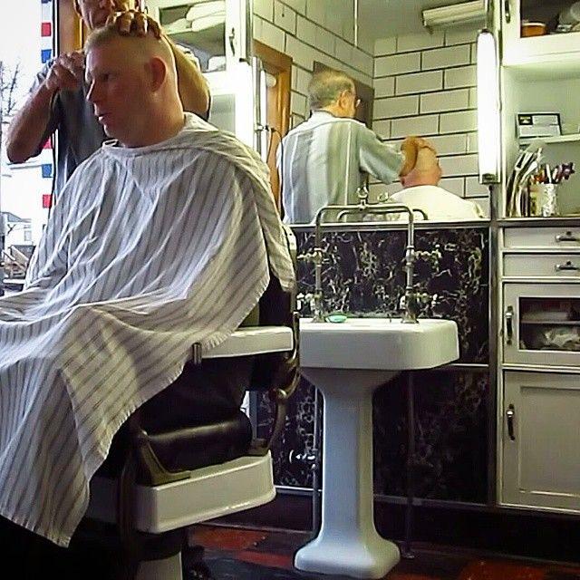 1327 best vintage barber ing images on pinterest. Black Bedroom Furniture Sets. Home Design Ideas