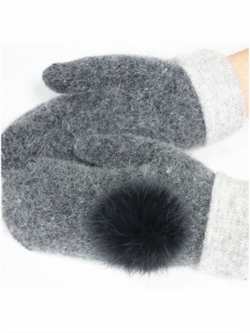 Buy Women's Gloves Patchwork Warm Wearable Sweet Style Faddish Accessory & Women's Gloves - at Jollychic