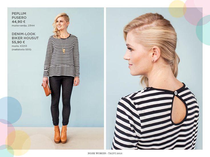 NOSH Naisten Lookbook | nosh.fi/lookbookWOMEN (Available only in Finland)