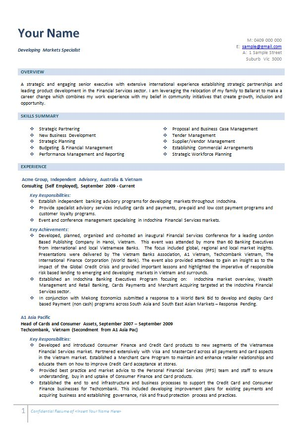 free resume samples australia examples template cover letter - independent consultant resume