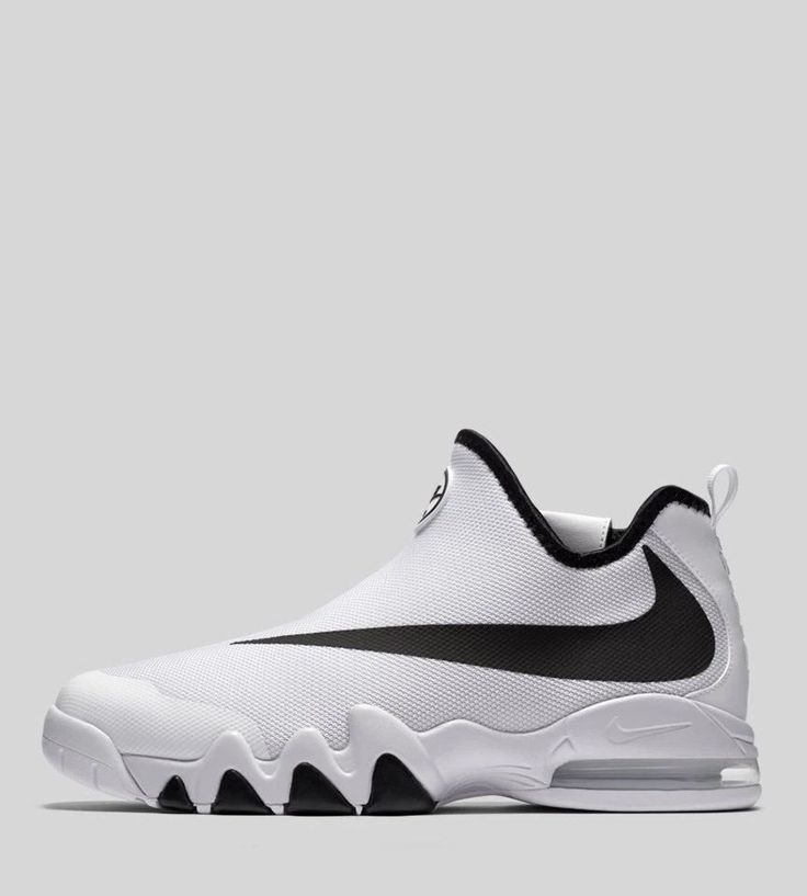 Nike Officially Unveils the Big Swoosh in White/Black/White: The silhouette  debuts in its cleanest colorway yet.