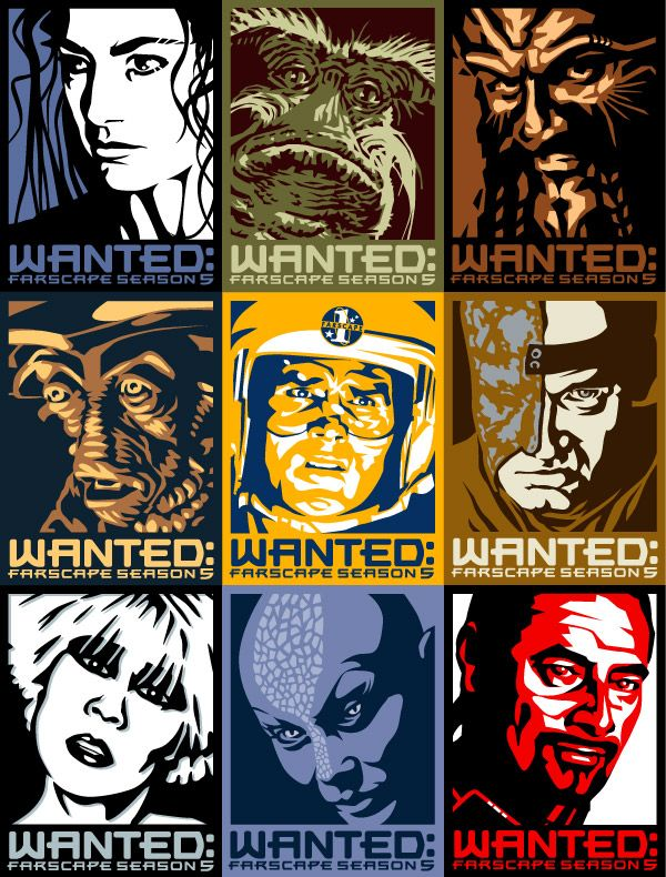 Wanted Farscape by ~ratscape