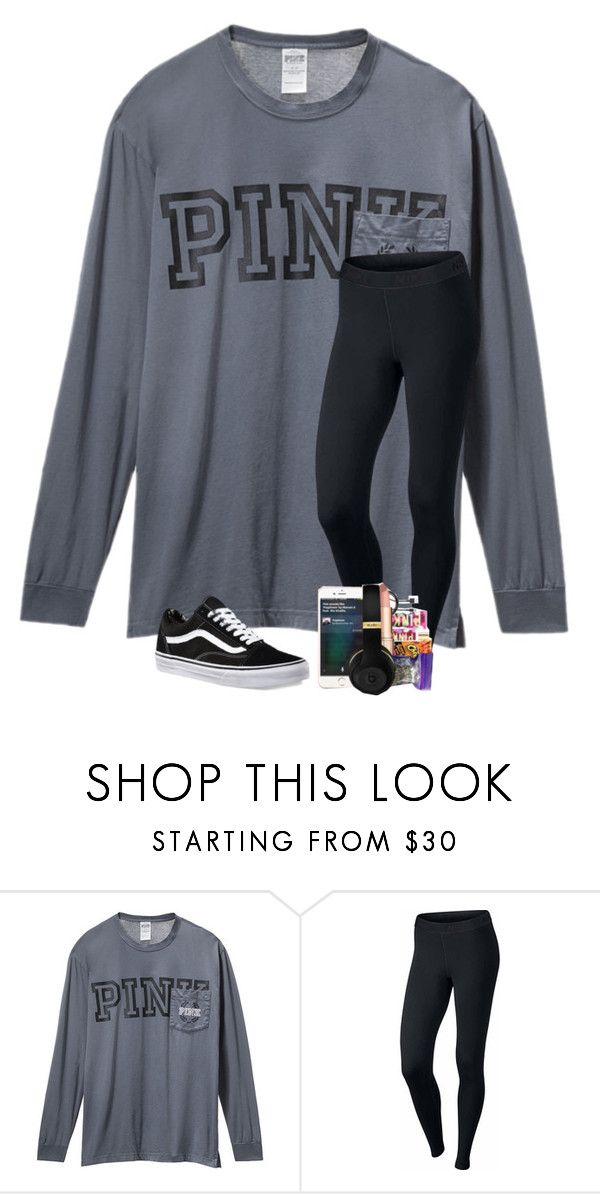"""""""Going to Tennessee this Saturday!!!"""" by preppyandsouthern17 ❤ liked on Polyvore featuring Victoria's Secret, NIKE and Vans"""