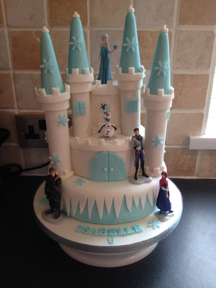 Frozen Castle Cake Frozen Pinterest Frozen Castle