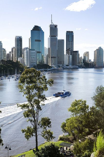 CityCat on Brisbane River