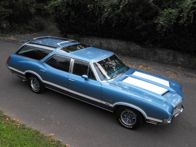 1971 Oldsmobile 442 W-30 Vista Cruiser Wagon 455 4bbl Rocket V8/TH400 auto/HD Cooling & Suspension w/3.42 PosiAxle. @designerwallace