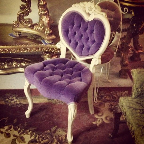 Cute purple heart shaped chair - 41 Best Images About Heart Shaped Chairs On Pinterest Antiques