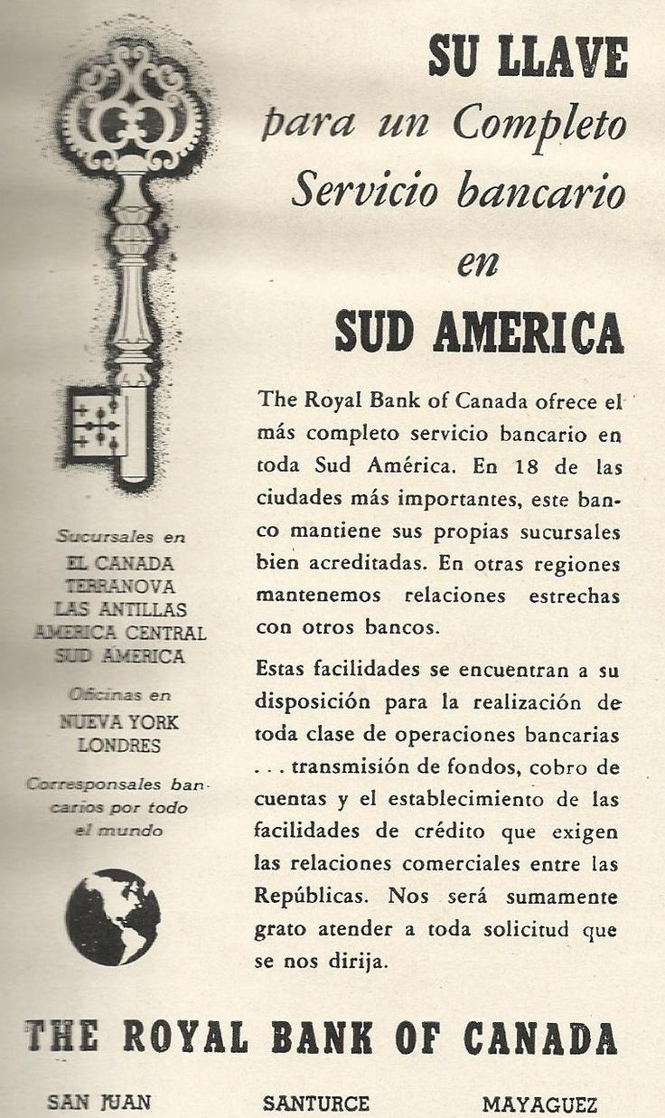 El Royal Bank of Canada operó en Puerto Rico | Historia y Genealogia PR