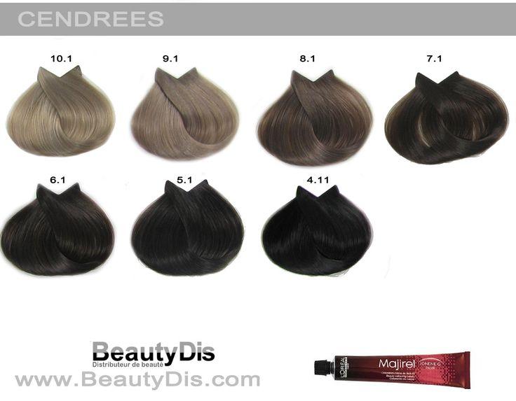 13 best coloration l 39 or al majirel images on pinterest - Couleur inoa nuancier ...
