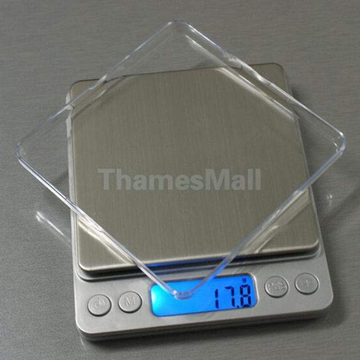Digital Jewelry Gram Scale Food Kitchen Tool Weight Balance 5 Sizes Measure