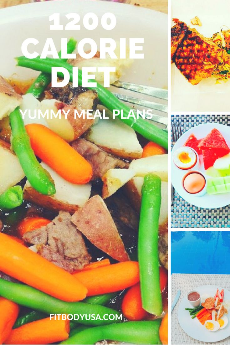 1200 Calorie Diet - Yummy Meal Plans