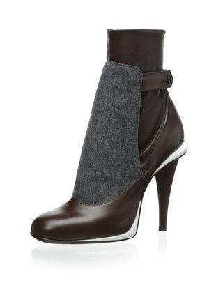 Fendi Women's Cut Out Bootie